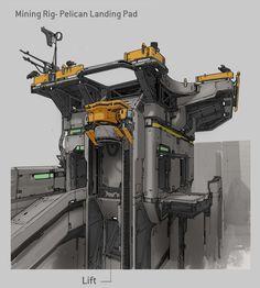 THE HUBBELL TELESCOPE: Halo 5 Art Dump