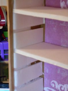 S S Crafter: Storage Unit Tutorial - Part 1 Diy Cardboard Furniture, Cardboard Storage, Craft Room Storage, Paper Storage, Cardboard Crafts, Craft Organization, Diy Storage, Bead Storage, Organizing Life