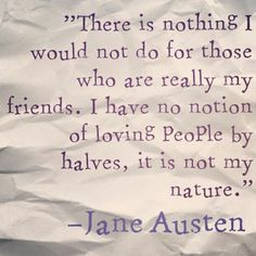 Jane Austen Quotes on Life, Love, and Friendship