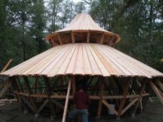 Wooden Yurts