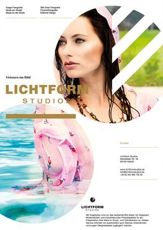 #Editorial #Design for Lichtform Studios an Agency for #Image #Photography!