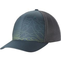 d48db771616 Columbia Mesh Mountain Baseball Hat (36 CAD) ❤ liked on Polyvore featuring  accessories