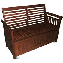 Delahey 4' Outdoor Storage Bench