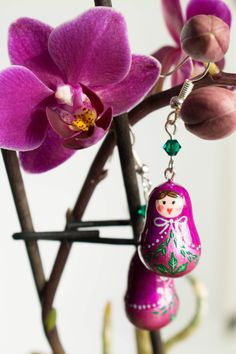 #dolls #russiandoll #nestingdolls #spring #colors #vibrant #earrings #fashion #mode #sweet #mother #gift #happy #bonheur #printemps #march #