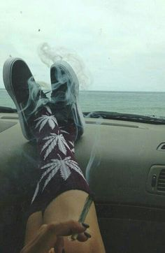 #socks #weed #Nike #shoes