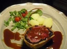 Learn how to cook a rich and savory sauce for your beef wellington.