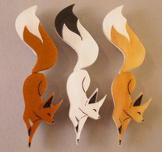 Foxy Brooch