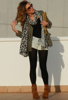 It's Fall, But Wear Your Shorts In All Seasons! - Fashion Diva Design