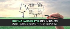 Round 2! We're going to dig even more deeply into potential site development costs and budgeting techniques. It's essential for developers to get price estimates for site improvements, which are dependent upon careful evaluation of the site prior to development.