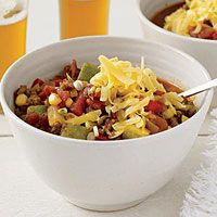 End of Summer Chili Pot.This is one of my absolute favorite recipes :) Chili Recipes, Healthy Recipes, Gumbo Recipes, Dip Recipes, Summer Recipes, Fall Recipes, Crockpot Recipes, Chili Cook Off, Crock Pot Cooking