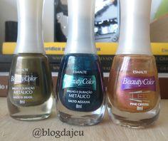 Resenha / Esmaltes Beauty color.  http://blogdajeu.com.br/resenha-esmaltes-beauty-color/
