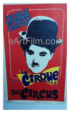 #TheCircus #Circus #SlapstickFall #TCMParty #Chaplin #CharlieChaplin #screenwriters #screenwriting #actor #directors http://eartfilm.com/products/the-circus-charlie-chaplin-1928-belgium-poster  Circus, The 1928 14x22 Original Belgium release movie poster