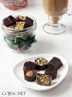 Wyjątkowe czekoladki na prezent :) | Zdrowe Przepisy Pauliny Styś