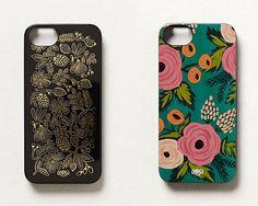 Botanical & Bonjour iPhone Cases