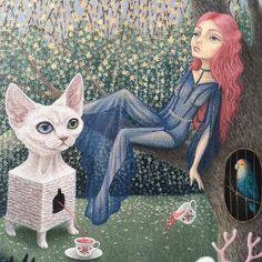 #shelestart #painting #popsurrealism #lowbrow #lowbrowart