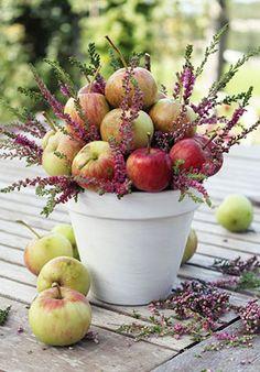 Вдохновение: яблоки в декоре свадьбы
