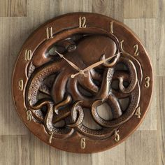 Check out Bella Coastal Decor now and take advantage of markdowns up to on nautical clocks, such as this Octopus Wall Clock!