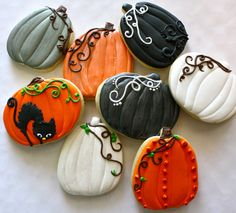 Fall Pumpkins by Haley Cakes and Cookies