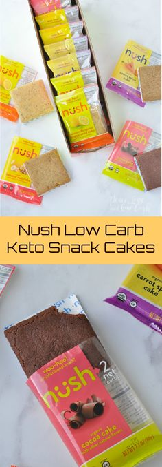 Nush Low Carb Keto Snack Cakes | Peace Love and Low Carb