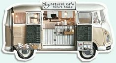 VW food/cafe stand.... for Jerry someday at the rivervalley farm festivals :)