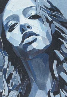 Denim Art by Ian Berry