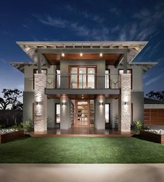 Franklin Resort Facade 2, New Home Designs - Metricon