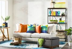Get inspired by Living Room Design photo by Wayfair. Wayfair lets you find the designer products in the photo and get ideas from thousands of other Living Room Design photos. Space Saving Furniture, Furniture Decor, New Years Sales, Wall Shelves, Comforter Sets, Living Room Designs, Comforters, Home Improvement, Couch