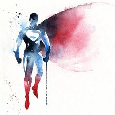 "In line with ""Super Heroes: Painted – Awesome paintings by Arian Noveir"", here is a selection of creations by French illustrator Blule, based in Australia, wh"