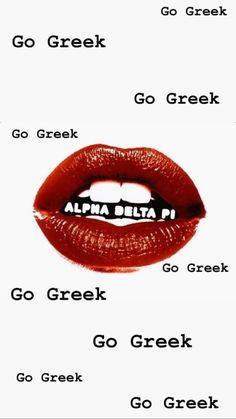 Alpha Xi Delta, Gamma Phi Beta, Tri Delta, Sigma Kappa, Theta, Sorority Decorations, Sorority Crafts, Go Greek, Greek Life
