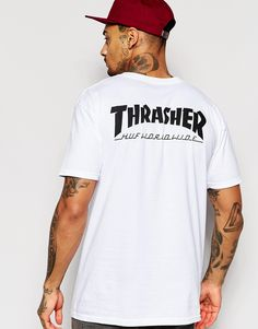 Huf X Thrasher T-shirt.