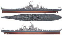 USS Wisconsin (BB-64) - Corazzata di Classe Iowa - Varata7 dicembre 1943 Entrata in servizio16 aprile 1944 Radiata30 settembre 1991 (ultima volta) Destino finalenel 2006 è diventata una nave-museo Caratteristiche generali Dislocamento45.000 Lunghezza207,4 m m Larghezza33 m m Pescaggio8,8 m m Velocità33 nodi  (61 km/h) Equipaggio :1921