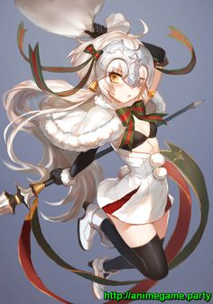 Jeanne d'Arc Alter Stan Lily ( Lancer ) FGO