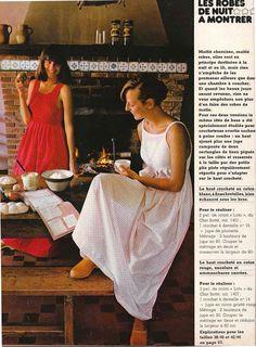 DIY vintage, couture, tricot, loisirs créatifs, années 70: Le crochet des débutantes