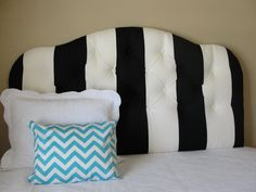 Striped headboard?