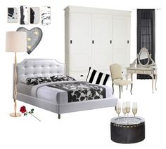 """""""Untitled #14"""" by sanela-sadmir ❤ liked on Polyvore featuring interior, interiors, interior design, home, home decor, interior decorating, CB2, Crystal Art, Unison and Dot & Bo"""