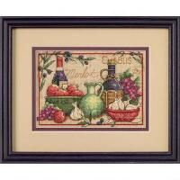 Dimensions® Mediterranean Flavors Counted Cross-Stitch Kit