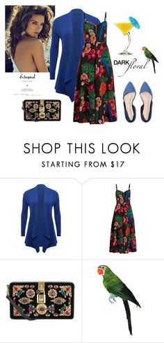 """""""Florals"""" by margaretkellogg ❤ liked on Polyvore featuring M&Co, Valentino, Dolce&Gabbana and TIKI"""
