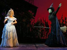 "Idina and Kristin.  I love Idina in everything she does...Wicked, Rent, Rent the Movie, The Wild Party,...she is beyond words.  Kristin Chenoweth was excellent in Wicked and on Glee.  She can do just about anything with her voice (""14G""!)."
