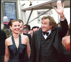 Les couples francais les plus iconiques Carole Bouquet et Gérard Depardieu