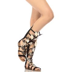 5b935a6f9e2471 Buy Black Faux Nubuck Wild Wings Gladiator Sandals with cheap price and  high quality from Cicihot Sandals
