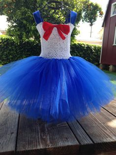 Sailor Moon tutu dress by 2Twos on Etsy ~ Too cute!