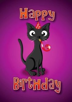 27 Mejores Imagenes De Gatos Cumpleanos Birthday Wishes Happy B