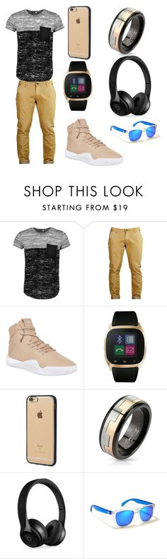 """""""#Swagger"""" by skylar123-479 on Polyvore featuring Boohoo, adidas Originals, iTouch, Incase, West Coast Jewelry, Beats by Dr. Dre, Hollister Co., men's fashion and menswear"""