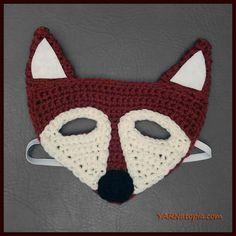 Crochet Tutorial: Fox Mask | YARNutopia by Nadia Fuad