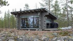 Mountain Collection - Honkatalot Bar Shed, Tiny Living, Wilderness, Cabin, House Styles, Nature, Mountain, Collection, Friends