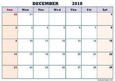december 2018 printable calendar word excel calendar blank calendar 2018 december calendar printable