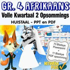 3134-GR 4 Afrikaans HT kw2 Baie Dankie, Afrikaans, Pdf, Words, Geography, Horse