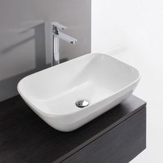 Browse the Bauhaus Serene Countertop Basin and give your modern bathroom a look that is right on trend. Now available at Victorian Plumbing.co.uk.
