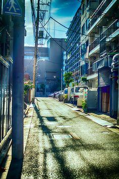 Tokyo street by andrewhitc.deviantart.com on @deviantART