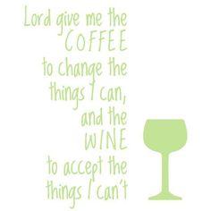 The Decal Guru Lord Give Me Coffee Wall Decal